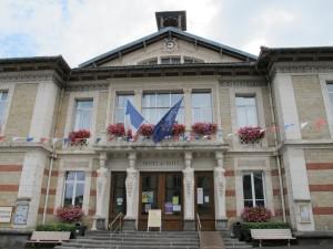 l'hôtel de ville la Bourboule